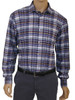 Men's Organic Cotton Long Sleeve Shirt Charles Duke Of Cornwall Plaid