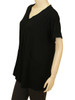 Women's Plus Size Black Escape Tunic - Bamboo Viscose