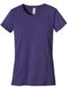 Women's Classic Short Sleeve T-Shirt - Organic Cotton - Iris