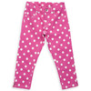 Organic Cotton Girl's Spotty Cropped Jean  - Fair Trade