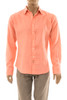 Men's 100% Natural Linen Fitted Shirt