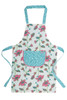 Girl's Organic Cotton Reversible Apron