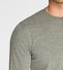 Men's L/S Novelty Henley - Organic Cotton Blend