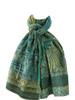 Babacar Green Scarf  - 100% Organic Cotton