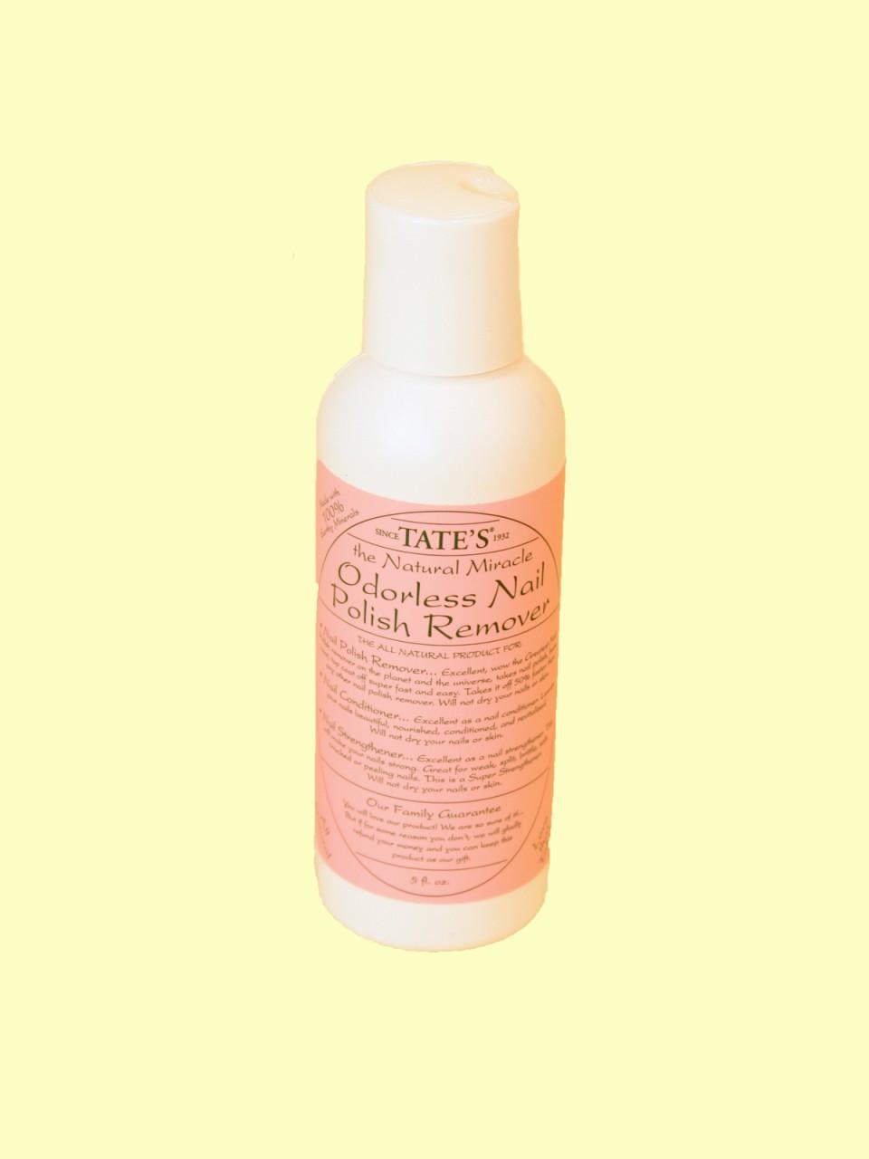 Organic All Natural Nail Polish Remover - 5 Fl. Oz. - Solne Eco ...