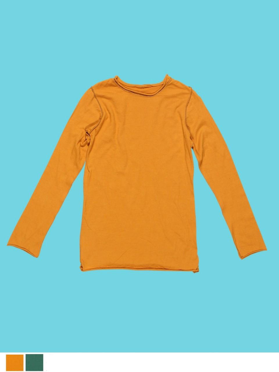 Boys Long Sleeve Plain T-Shirt - Organic Cotton Jersey - Solne Eco  Department Store