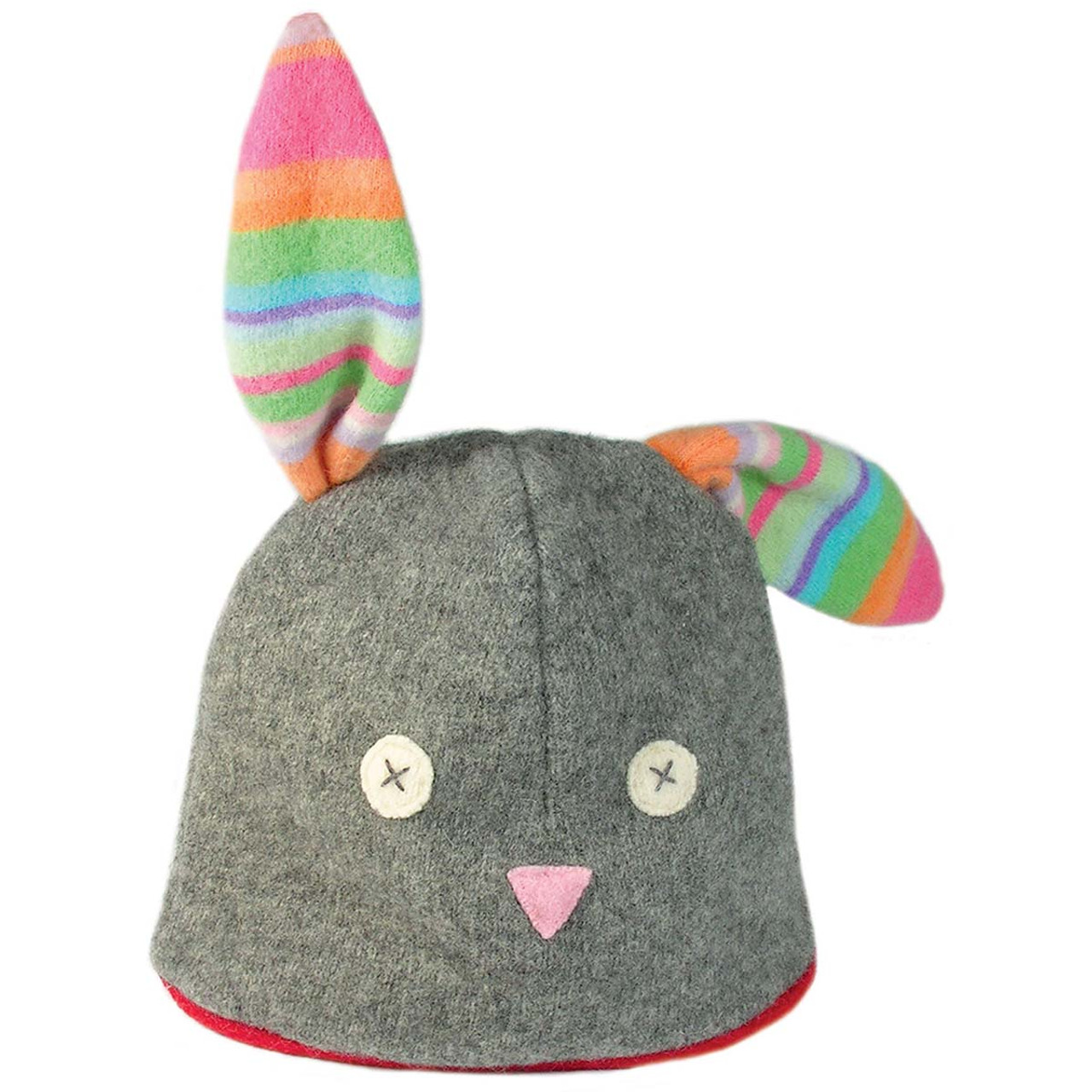 Toddler Winter Hat-Eco Wool - Bunny - Solne Eco Department Store 5da7c388222
