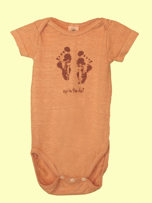 Alek's Feet Onesie - 55% Hemp & 45% Organic Cotton