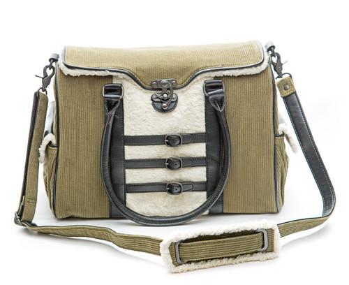 Bailey Satchel Handbag - Hemp/Cotton