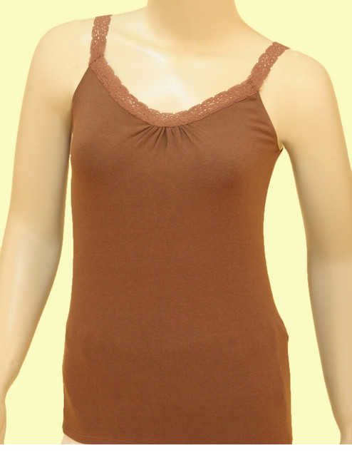 Bamboo Rayon Lace Camisole