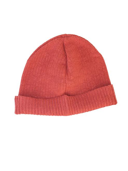 Faded Rose Beanie Hat - Hemp/ Flax