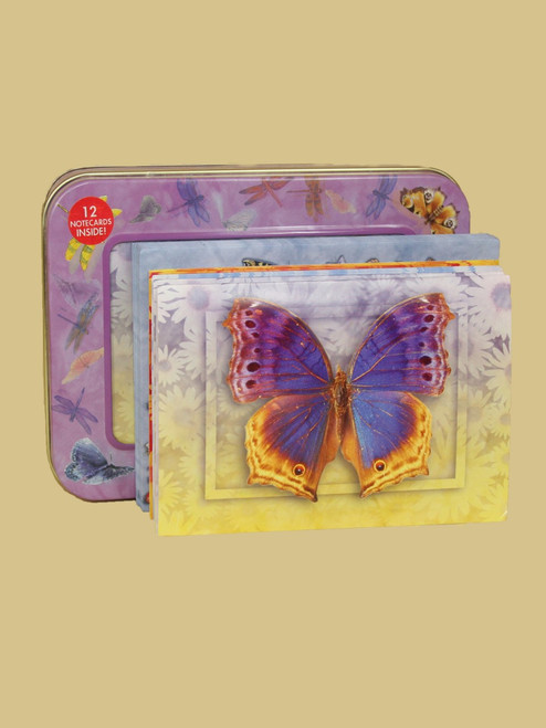 Butterfly Visions Tin Box Cards