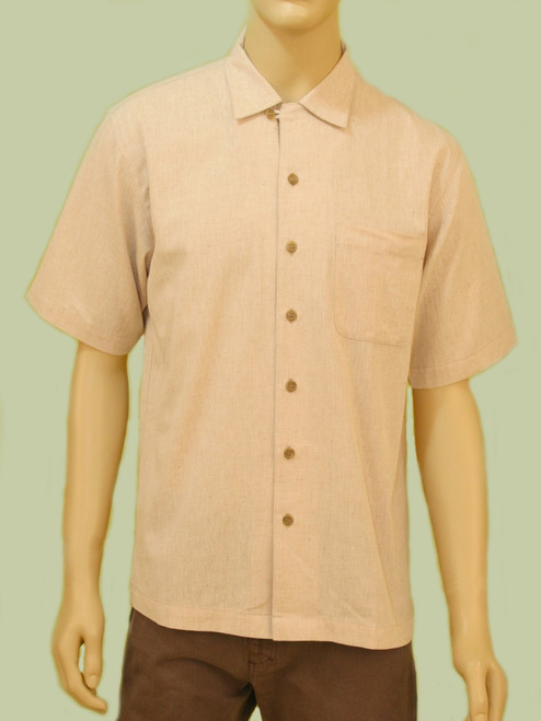 Chambray Camp Shirt - Organic Cotton
