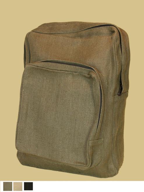 Hemp College Backpack