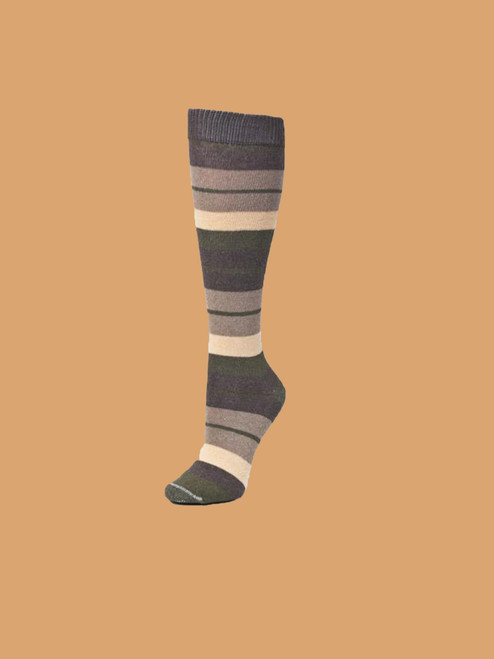 Coyote Knee High Paired Socks - Recycled Cotton