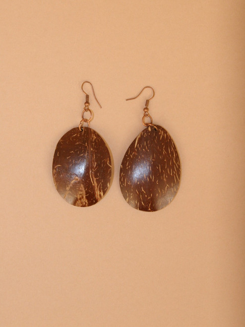 Dangle Coconut Earrings