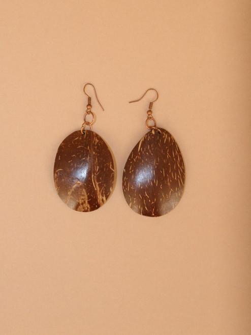 Dangle Coconut Earrings