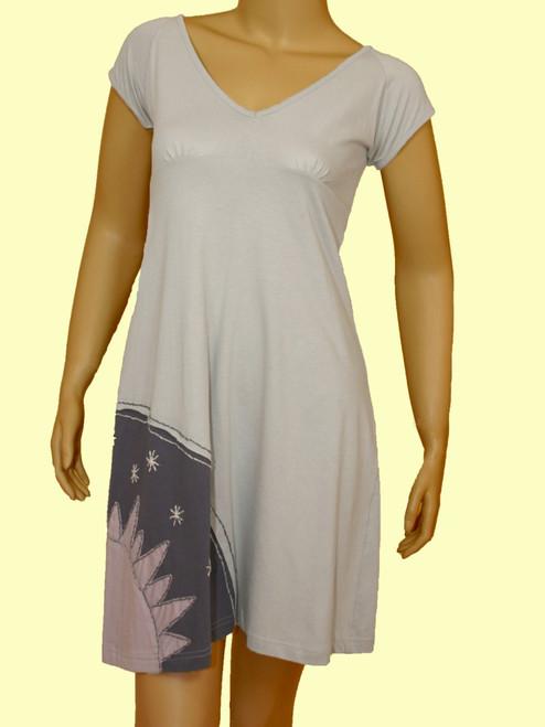 Dress of the Sun Meadows - Organic with Low Impact Dye