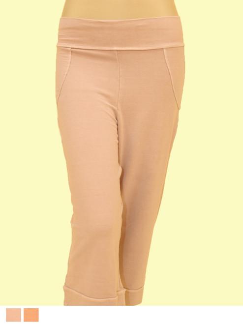 Bombay Crop Pant - Bamboo Rayon/ Organic Cotton