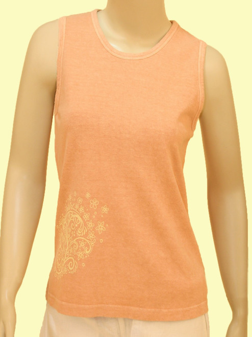 Floral Paisley Everywhere Tank - Hemp/Organic Cotton