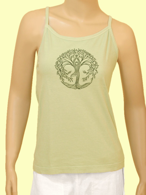 Tree Pose Tank Top - 100% Organic Cotton