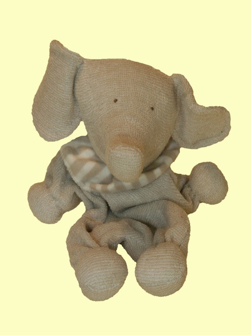 Elephant Toy - Certified Organic Cotton