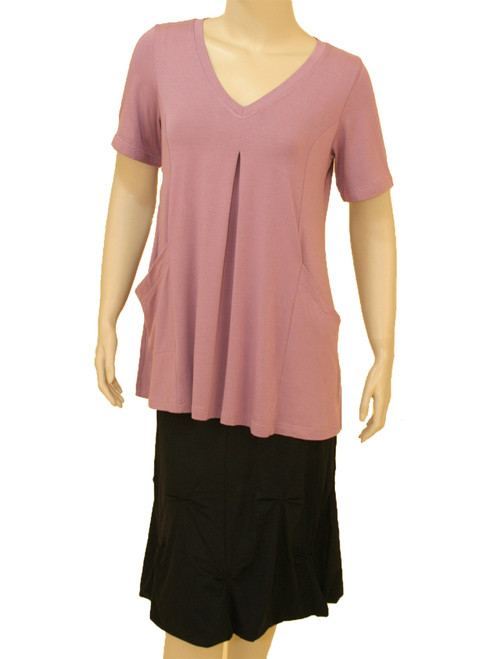 Escape Tunic - Bamboo Viscose - Blush Color