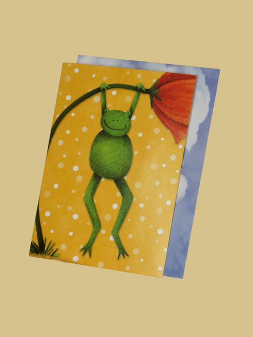 Hang Ten Toad Card