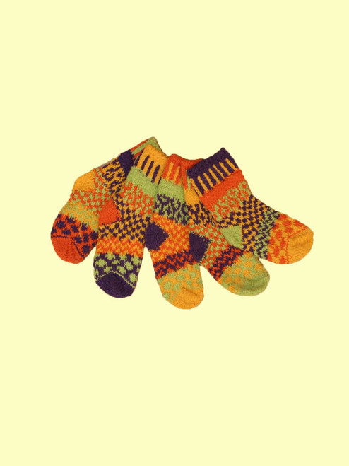 Honey Bee Socks  - Recycled Cotton