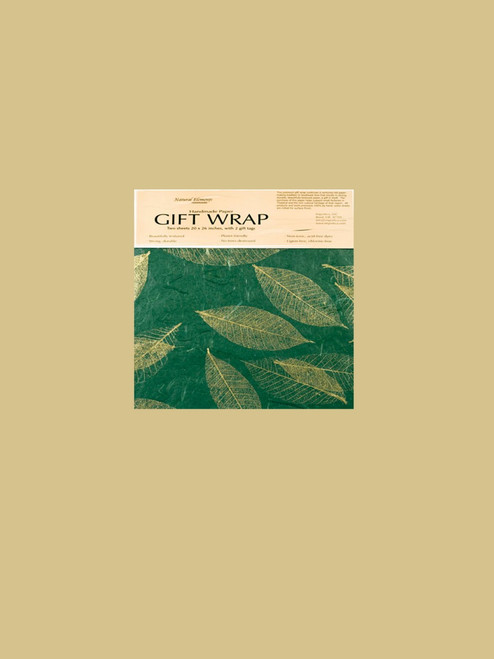 Leaves Wrapping Paper - Eco Friendly