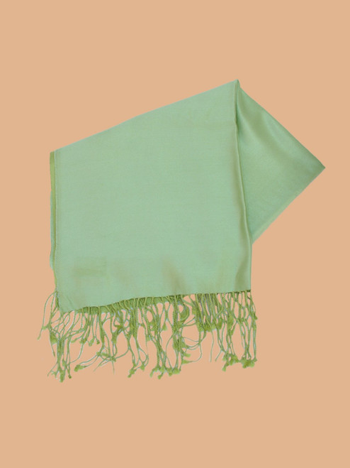 Lime  Chartruse Silk Stole