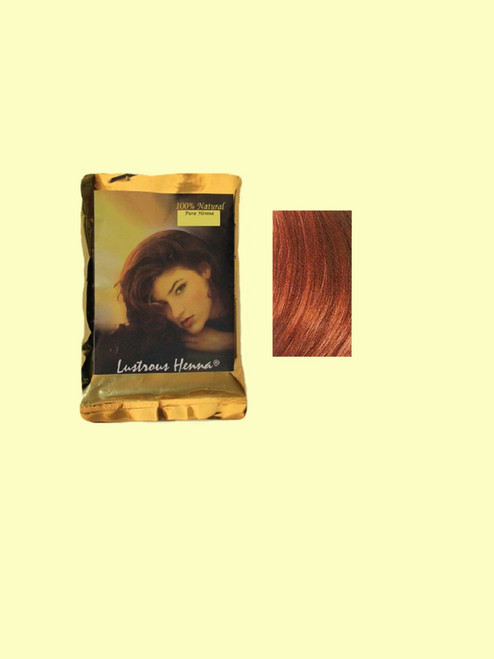 Lustrous Henna Red Hair Color - 3.52 oz