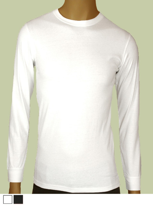 Men's Long Sleeve Tee - Certified Organic Cotton