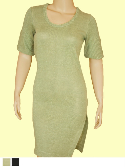 Milano Dress - Hemp / Flax blend