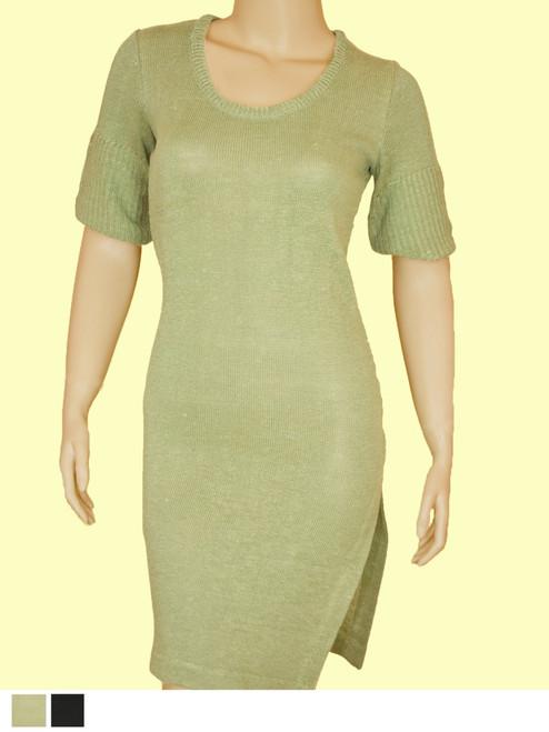 Milano Dress - Hemp / Flax blend