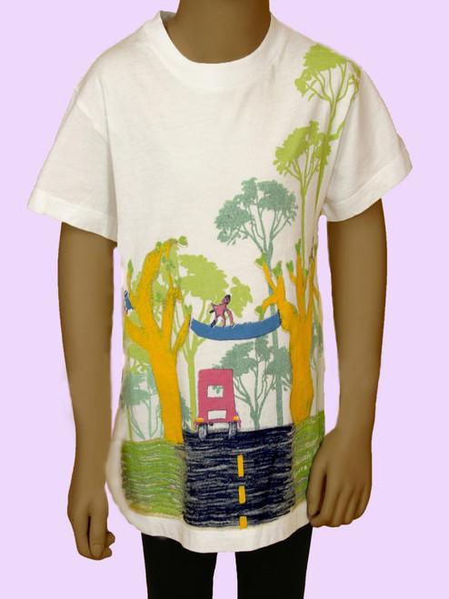 Monkey Bridge Kids Crew - Organic Cotton