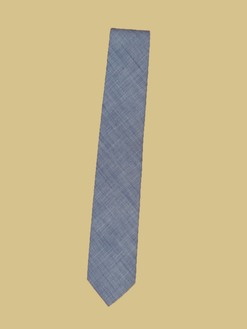 Narrrow Linen Tie Solid - Organic Cotton