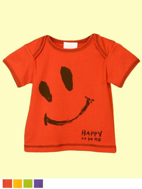 Baby Ha-Ha Smile Top - Organic Cotton