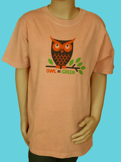 Owl Be Green Tee - 100% Organic Cotton