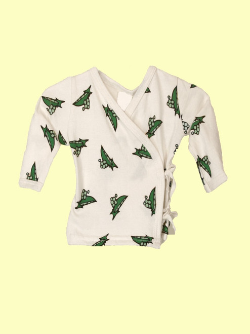 Pea Pod Kimono Set - Organic Cotton