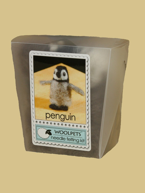 Penguin Wool Needle Felting Kit