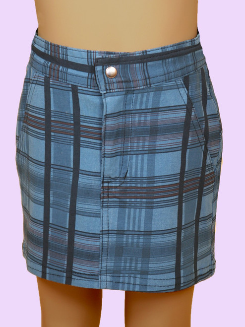 Plaid City Skirt - Hemp & Organic Cotton