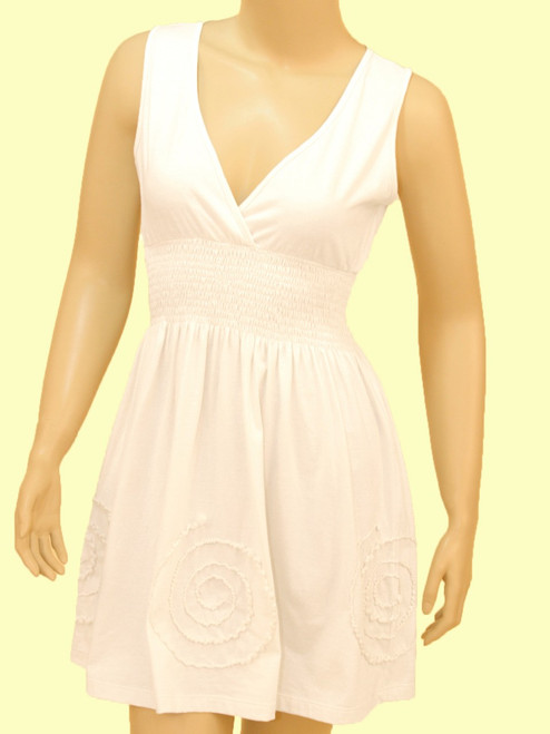 Praia Tunic Dress - Organic Cotton