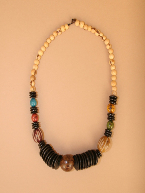Tagua Big Seed Necklace
