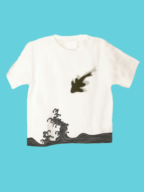 Organic Cotton Wave Tee