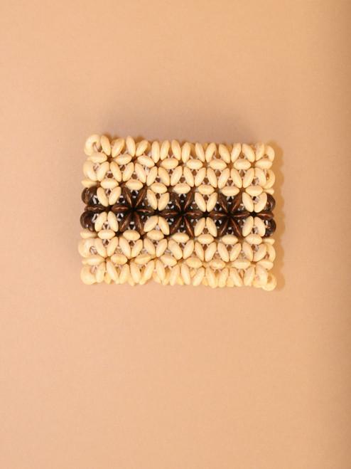 White & Black Woven Bracelet