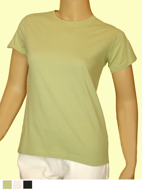 Women's Short Sleeve Tee - Organic Cotton