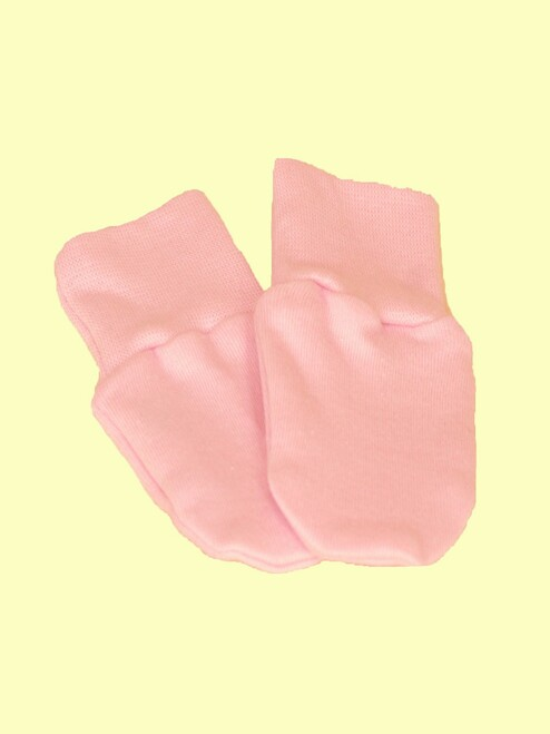 Baby Girl Mittens - Certified 100% organic cotton