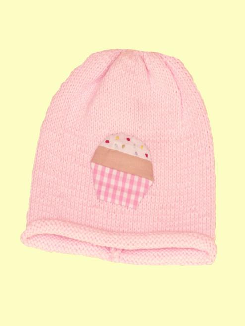 Cupcake Motif Hat -Fair Trade
