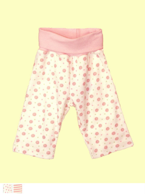 Baby Girl Waist Pant - Certified 100% organic cotton